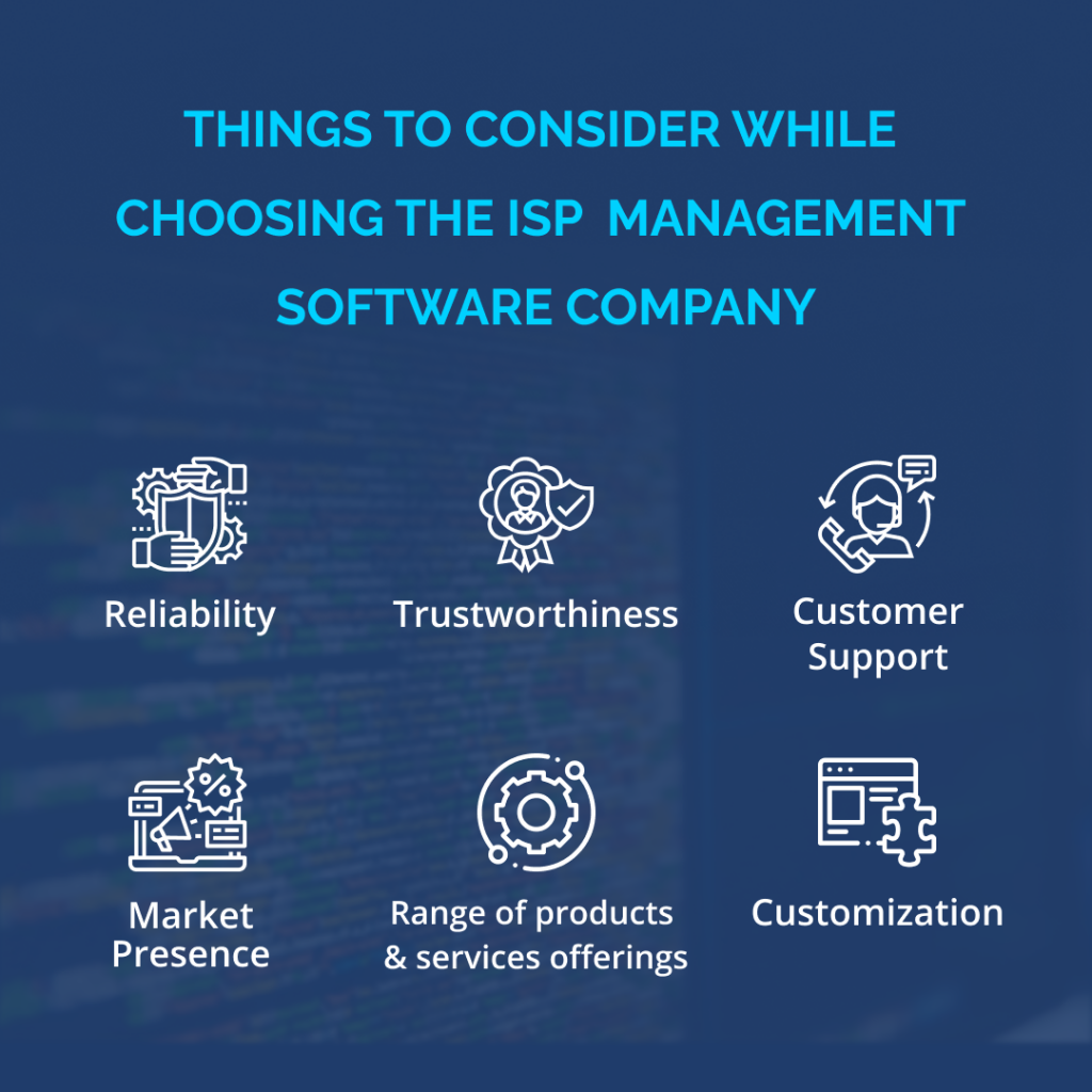 ISP Management Software Company